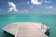 Le Ponton privé de la Résidence Hamak Guadeloupe