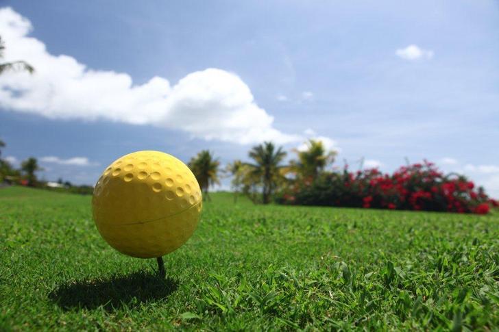 A 30 m de la villa de luxe le golf international 18 trous de Guadeloupe
