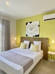 Une des 4 chambres de la villa en Guadeloupe