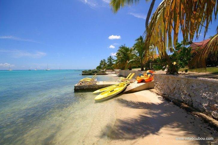 Le Lagon de Saint François Guadeloupe, canoés kayak