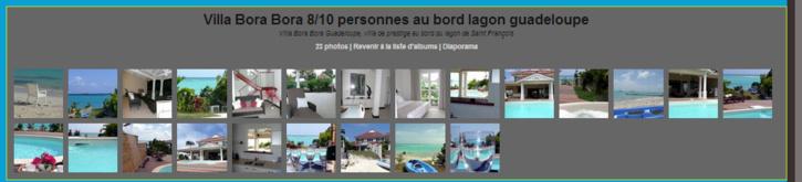 Photos de la Villa Bora Bora en Guadeloupe