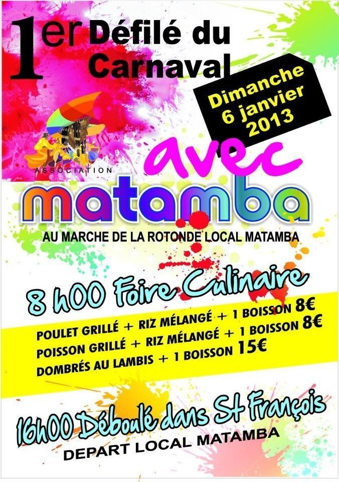 Matamba Saint François Groupe de Carnaval