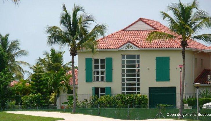 Villa Boubou, devant le golf de 18 trous de Saint François Guadeloupe