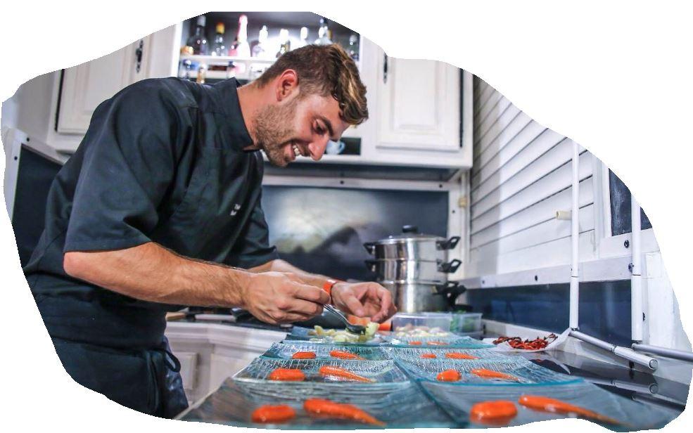 Le chef Thibault