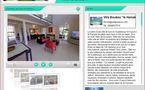 """Visite 360 degrés de la location de villa en Guadeloupe """"Villa Boubou"""""""