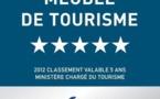 """Meublé de tourisme 5 étoiles pour la Villa de luxe en Guadeloupe """"Villa Boubou"""""""